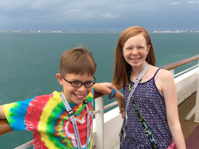 Disney Fantasy Cruise Day #2: Day at Sea