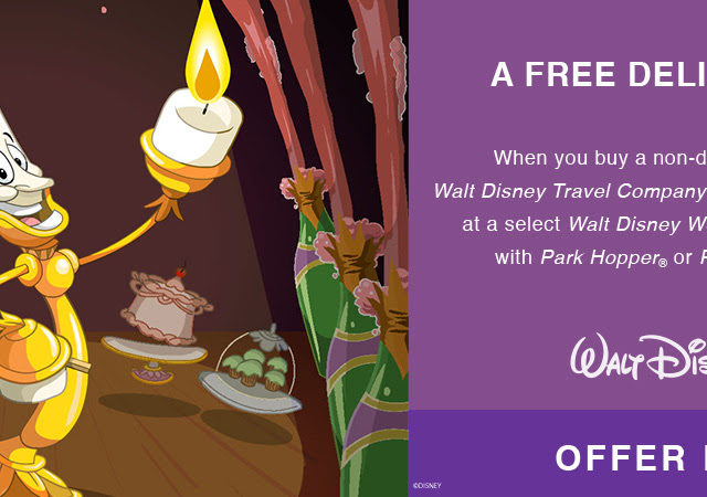 FEAST ON THIS DELICIOUS OFFER THIS FALL AT THE WALT DISNEY WORLD RESORT