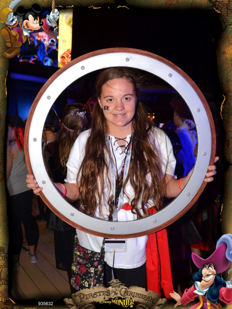 Disney Wonder Cruise Pirate Party