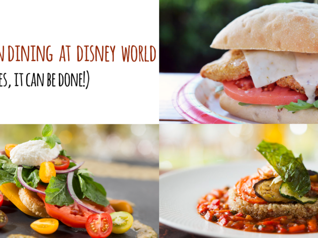 A Vegetarian Goes to Walt Disney World