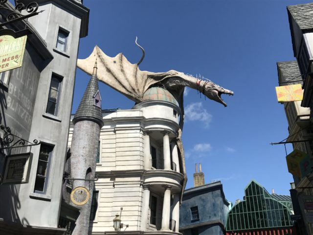 diagon alley gringots at universal orlando resort