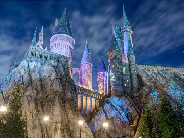 the harry potter experience at universal studios orlando small