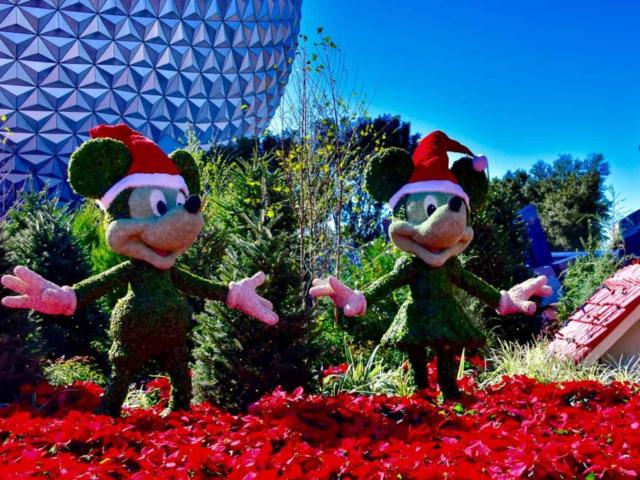 Enjoying the holidays at Disney